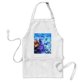 Purple Sea Fan Personalized Gift Apron