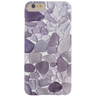 Purple Sea Glass and Sea Marbles Barely There iPhone 6 Plus Case