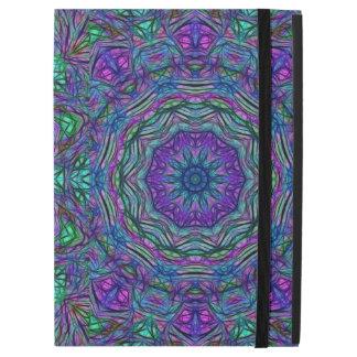 """Purple Sea Green Kaleidoscope iPad Pro 12.9"""" Case"""
