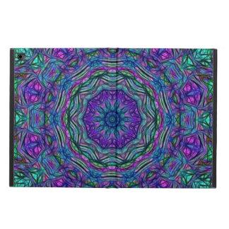 Purple Sea Green Kaleidoscope Powis iPad Air 2 Case