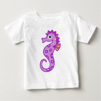 Purple seahorse baby T-Shirt