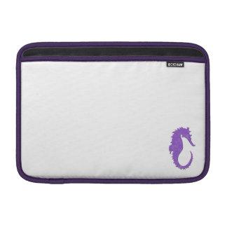 Purple Seahorse MacBook Air Sleeve