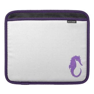 Purple Seahorse Sleeve For iPads