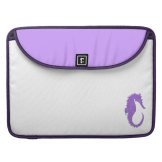Purple Seahorse Sleeve For MacBooks