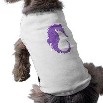 Purple Seahorse Tee