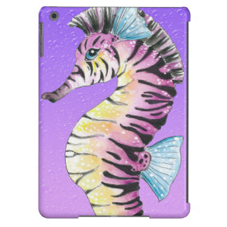 Purple Seahorse Zebra iPad Air Case
