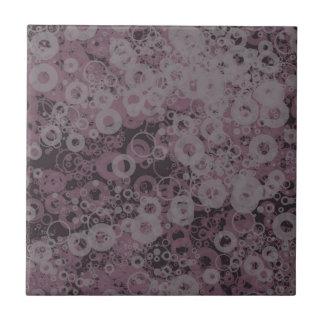 Purple seamless ceramic tile
