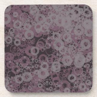 Purple seamless coaster
