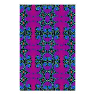 purple seamless pattern Digital computer graphic Stationery