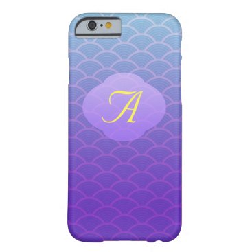 all_summer_products Purple Seamless Wave Pattern iphone 6 Cases