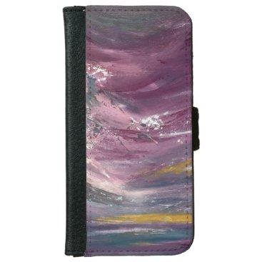 Purple Seascape Wallet