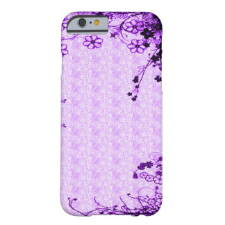 Purple Secret Garden Barely There iPhone 6 Case