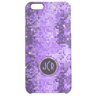 Purple Sequence Look Disco Mirrors Uncommon Clearly™ Deflector iPhone 6 Plus Case