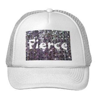 Purple Sequins & Beads Trucker Hat