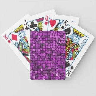 Purple Sequins Card Decks
