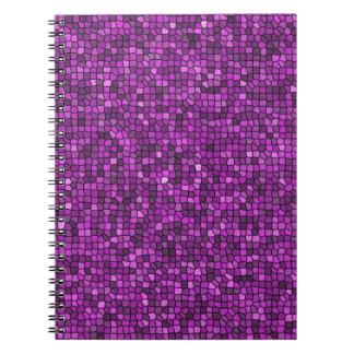 Purple Sequins Notebook