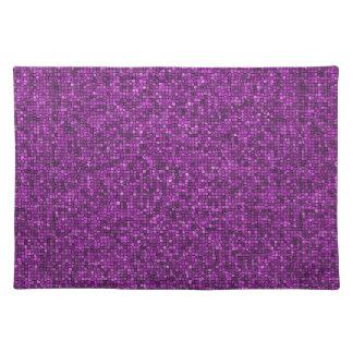 Purple Sequins Placemat