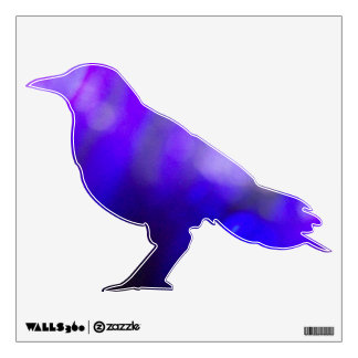 Purple Shade Crow Decal #2 © Roseanne Pears 2012.