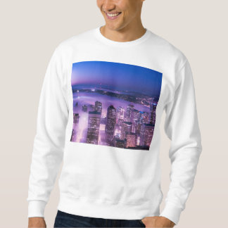 Purple Shades Seattle Panorama Pullover Sweatshirt