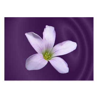 Purple Shamrock ~ ATC Business Card Templates