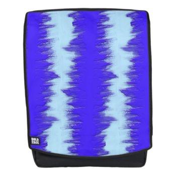 Purple Shapes Backpack