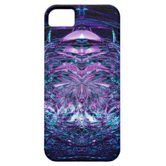 Purple Shards iPhone SE/5/5s Case