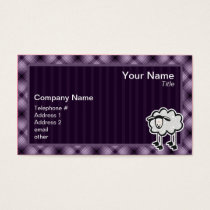 Purple Sheep Business Card