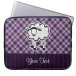 Purple Sheep Laptop Computer Sleeves