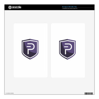 Purple Shield PIVX Skin For Kindle Fire