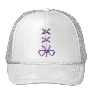 Purple Shoe Laces Trucker Hat