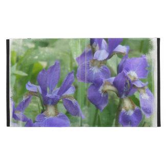 Purple Siberian Iris iPad Folio Cover