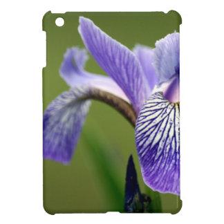 Purple Siberian Iris iPad Mini Cases