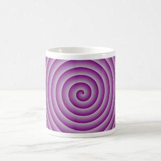 Purple & Silver Hypnotic Coffee Mug