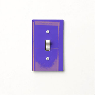 PURPLE SINGLE TOGGLE LIGHT SWITCH SWITCH PLATE COVER
