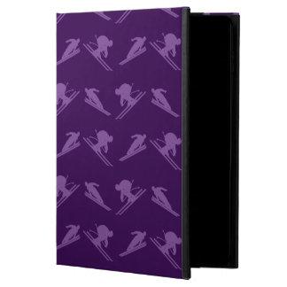 Purple ski pattern powis iPad air 2 case