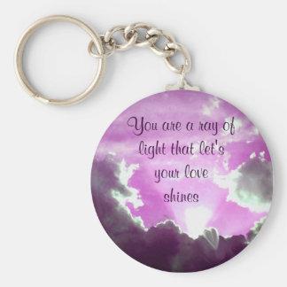Purple Skies_ Keychains