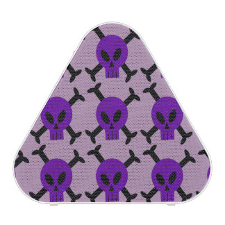 Purple Skull And Crossbones Speaker