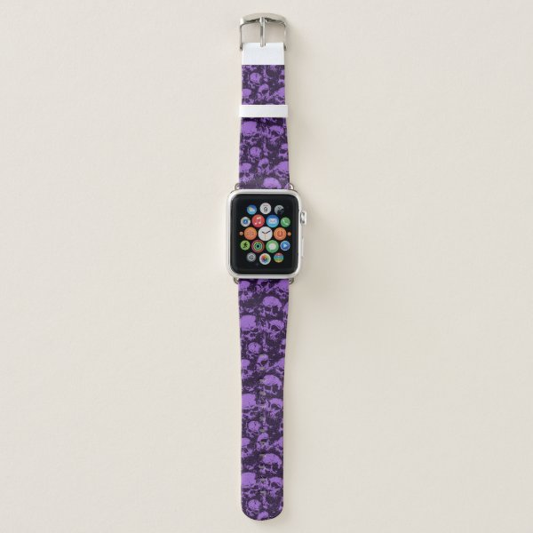 Purple Skull Apple Watch Band