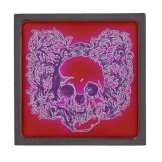 Purple Skull Art Premium Gift Boxes