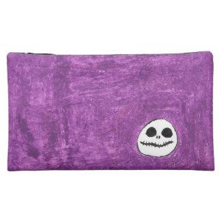 Purple Skull Cosmetic Bag