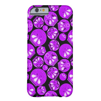 Purple Skull Diary Barely There iPhone 6 Case