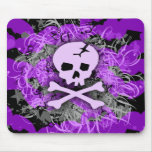 Purple Skull Gothic MousePad