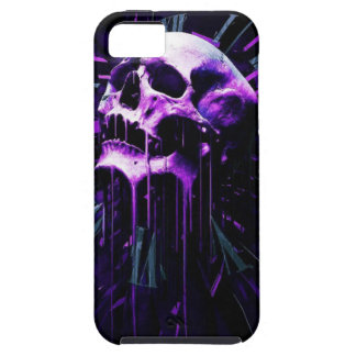 Purple Skull iPhone SE/5/5s Case