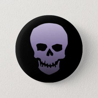 Purple Skull Pinback Button