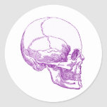 purple skull stickers