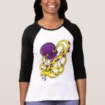 Purple skull t-shirts