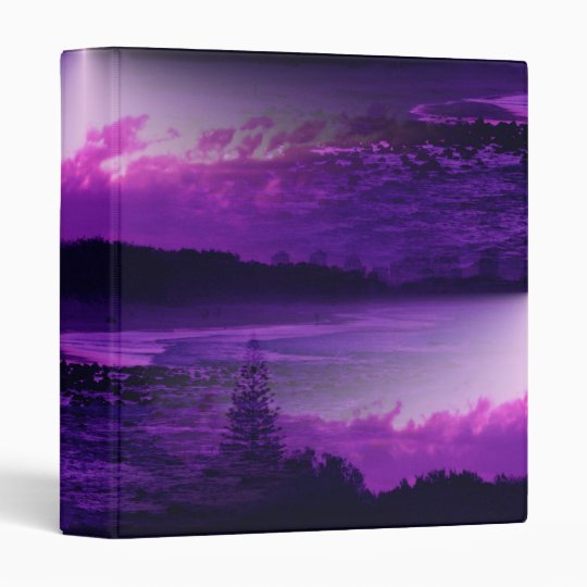 Purple Sky Avery Binder