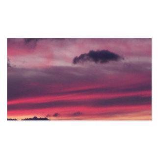 Purple Sky Business Card Templates