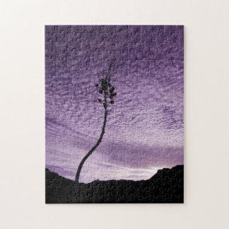Purple Sky Landscape Jigsaw Puzzle