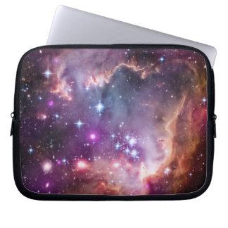 Purple Small Magellanic Cloud Computer Sleeve